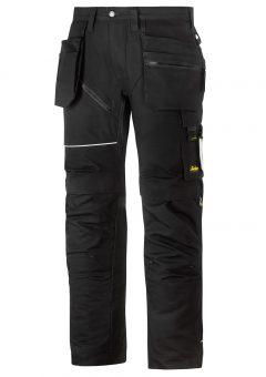 Snickers Ruffwork Trousers – Black