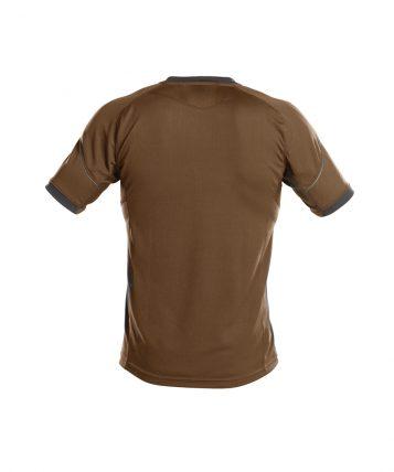 nexus_t-shirt_clay-brown-anthracite-grey_back