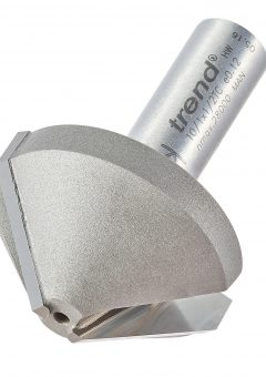 TREND 10/1X1/2TC - Mortar Groove/Large chamfer cutter 45 degrees 10
