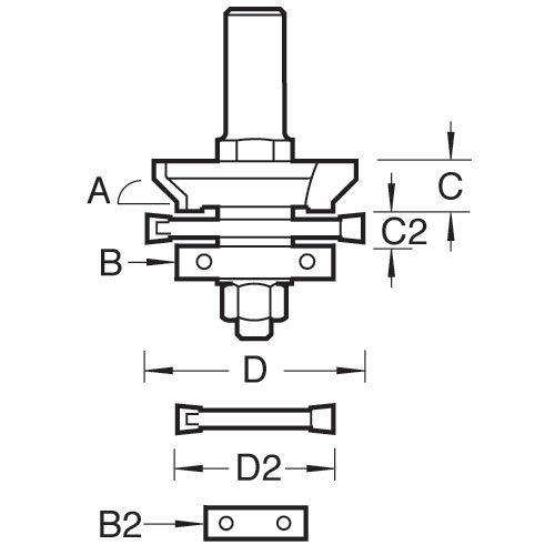 TREND 338X1/2TC - Matchlining set 2