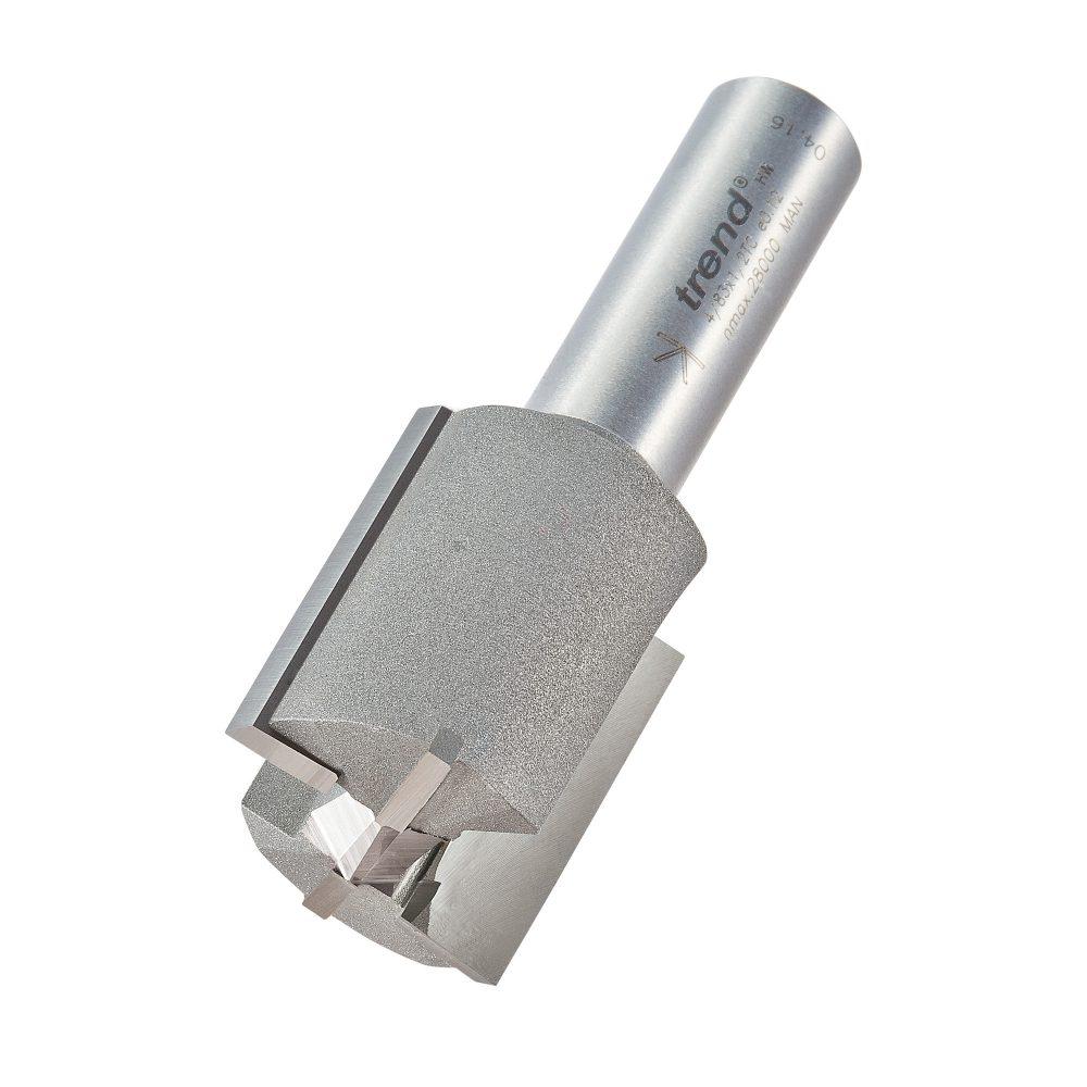 TREND 4/83X1/2TC - Two flute cutter 27mm diameter 1