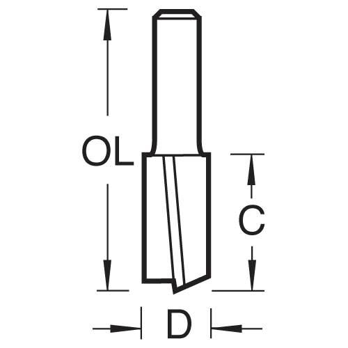 TREND 53/30X1/4TC - Shear cutter 2