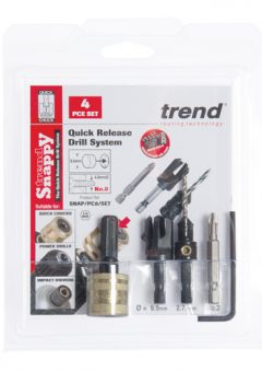 TREND SNAP/PC10/SET - Trend Snappy plug cutter No 10 screw set 4