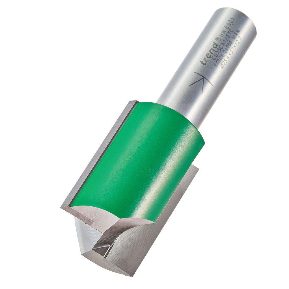 TREND C033CX1/2TC - Two Flute Cutter 25.4mm diameter 1