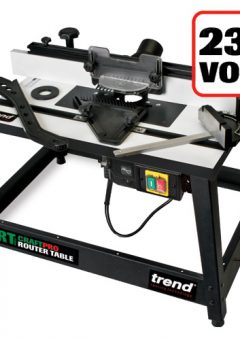 TREND CRT/MK3 - Trend Craft Pro Router Table for joinery, furniture, shaping and moulding applications 6