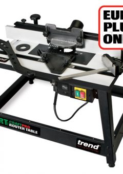 TREND CRT/MK3/EURO - CraftPro Router Table MK3 230V Euro plug - Authorised distributors only 5