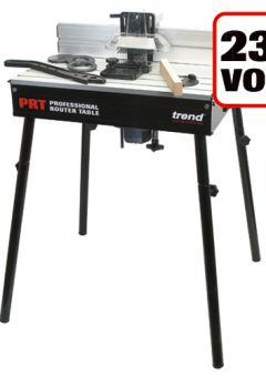 TREND PRT - Professional Router Table UK 230V - For UK sale only 4