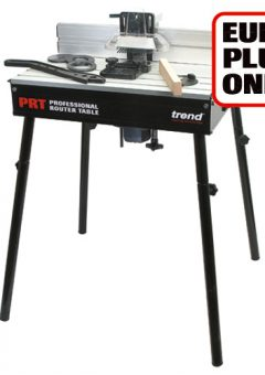 TREND PRT/EURO - Professional Router Table Euro 230V - Authorised distributors only 6