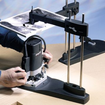 TREND WP-RSK/01A - Routasketch router base with Rotazip Holes 1