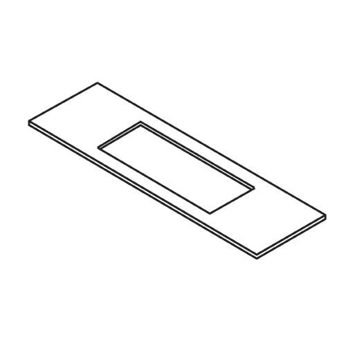 TREND WP-LOCK/T/276 - Lock Template 28mm x 203mm faceplate 1