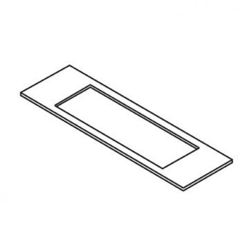 TREND WP-LOCK/A/T57 - LOCK/JIG/A template 30mm x 256mm 1