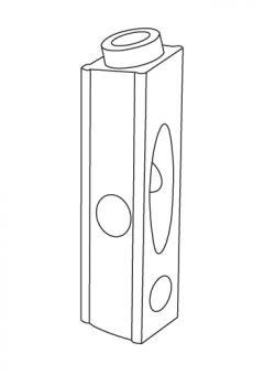 TREND WP-PHJM/03 - Pocket hole mini guide column (pair) 4