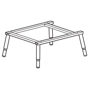 TREND WP-PRT/32 - PRT table frame welded 1