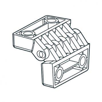 TREND WP-PRT/38 - PRT pivot guard hinge 1