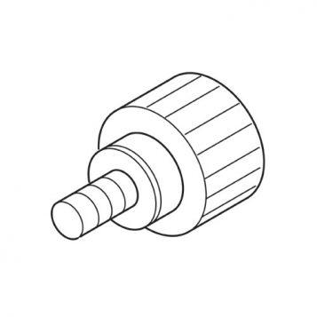 TREND WP-SRT/32 - Knob 21mm diameter M6 x 8mm male SRT 1