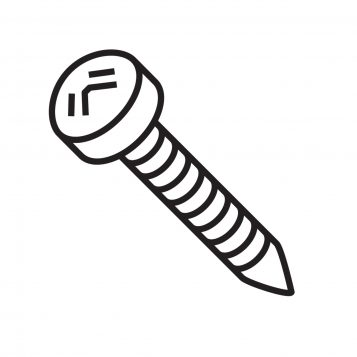 TREND WP-T35/038 - Screw self tapping pan 5mm x 32mm Pozi T35 1