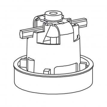 TREND WP-T35L/014 - Motor with leads 115V T35AL 1
