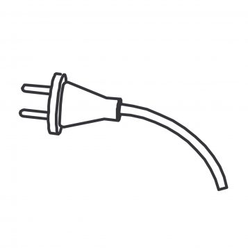 TREND WP-T35L/022 - 3 core cable with plug 115V UK T35AL 1