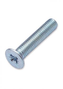 TREND WP-SCW/117 - M5 x 25mm countersunk Pozi machine screw 3