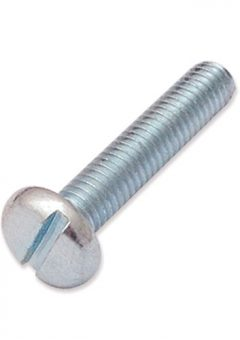 TREND WP-SCW/32 - M6 x 30mm pan slot machine screw 5
