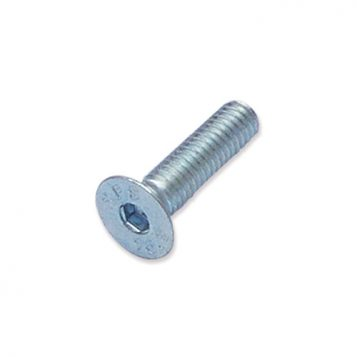 TREND WP-SCW/84 - M4 x 16mm countersunk socket zinc machine screw 1