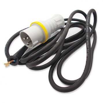 TREND WP-T5L/023 - Cable 2 core with plug UK 115V T5 1