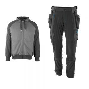 mascot trouser hoodie bundle grey