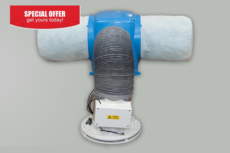 Nuaire Drimaster Eco Heat HCS PIV Special Offer