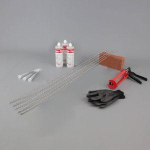 crack stitching kit
