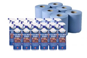 rolls and multi wipe