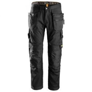 Snickers Trousers 6200 Allroundwork With Holster Pockets - Black