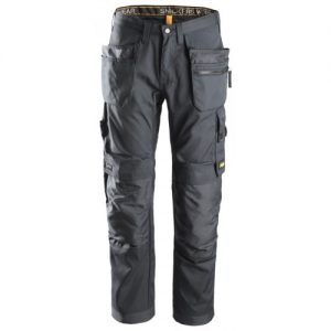 Snickers Trousers 6200 Allroundwork With Holster Pockets - Steel Grey