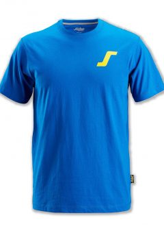 """Snickers Classic T-Shirt Blue With """"S"""" Logo BSS2502-B 2"""