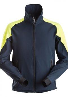 Snickers Jacket 8028 FlexiWork Navy Neon Jacket