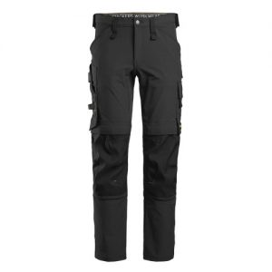 Snickers Trousers - 6371 AllroundWork Stretch Trouser - Black