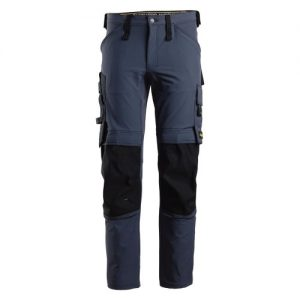 Snickers Trousers - 6371 AllroundWork Stretch Trouser - Navy