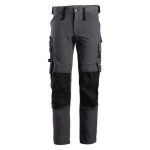 Snickers Trousers - 6371 AllroundWork Stretch Trouser - Steel Grey
