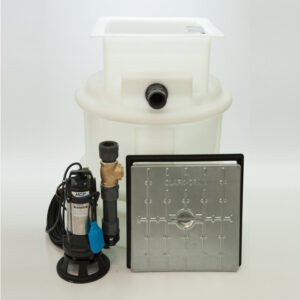 Basement Waste Sewage Pump System