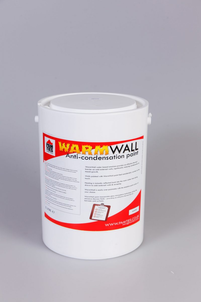WarmWall Anti-Condensation Paint 2.5 Litre tin 1