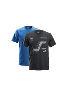 Snickers 2522 T-Shirt 2-Pack1