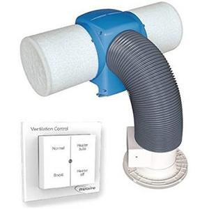 Nuaire Drimaster Eco Heat HC PIV System – With Remote Control