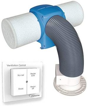 Nuaire Drimaster Eco Heat HC PIV System - With Remote Control