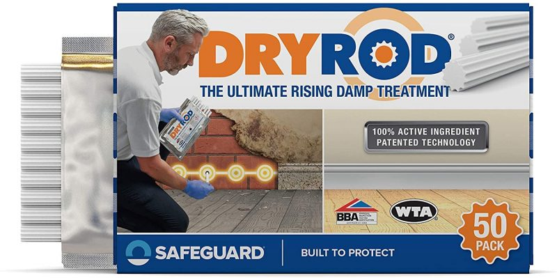 Damp Proofing Rods Box of 10 Next Generation Rising Damp