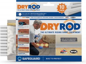 Dryrod Damp Proofing Rods (10 Pack)