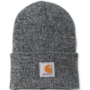 Carhartt Beanie Watch Hat - Black & White