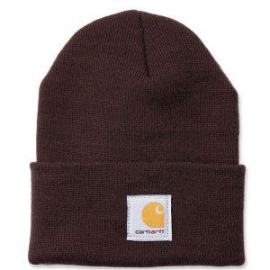 Carhartt Beanie Watch Hat - Dark Brown