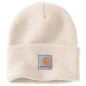 Carhartt Beanie Watch Hat - White