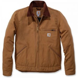 Carhartt Jacket Duck Detroit - Brown