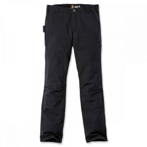 Carhartt Trousers Slim Fit Duck Double - Black