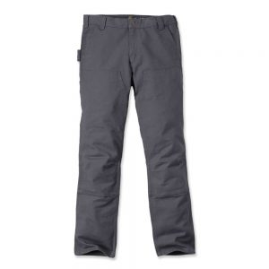 Carhartt Trousers Slim Fit Duck Double - Gravel